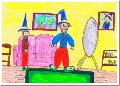 Ismaíl e o seu tío Nasrudín, de Gloria