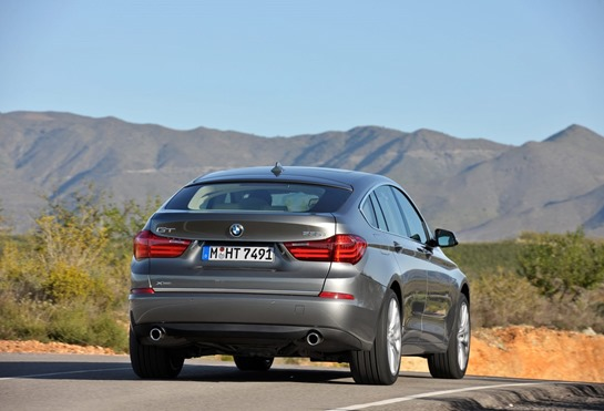 2014 BMW 5 series GT rear