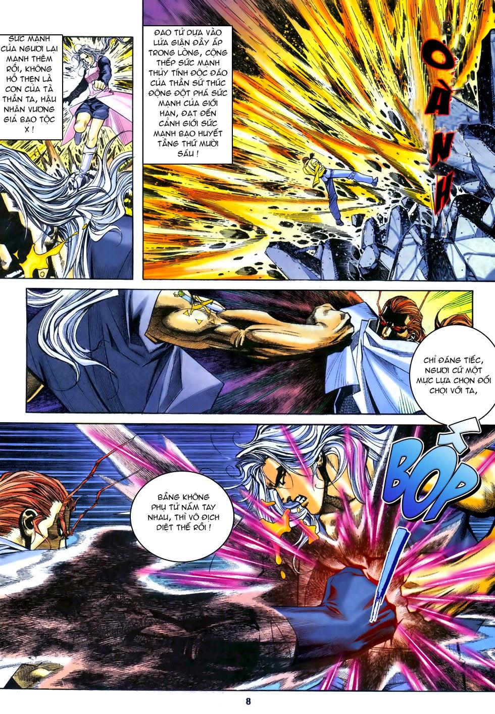 X Bạo Tộc chap 67 - Trang 8