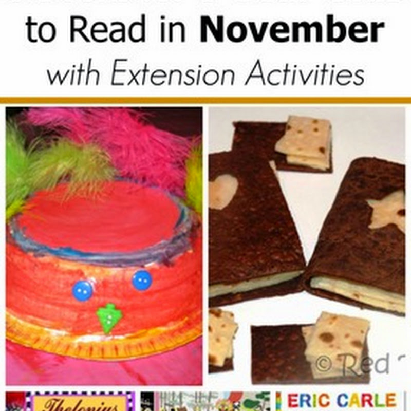 6 November Books for 5 Year Olds
