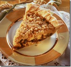 Brown Sugar Apple Pie with Almond Crumb Topping