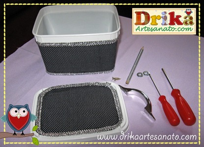 16 Passo a passo de pote de sorvete decorado Drika Artesanato