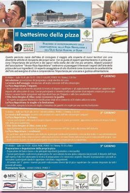 IL BATTESIMO DELLA PIZZA