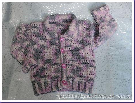 Blusa em Crochê para Menina