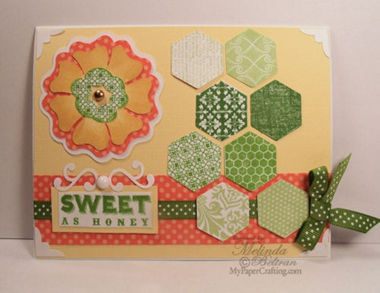 sweet as honey-ctmh card-500