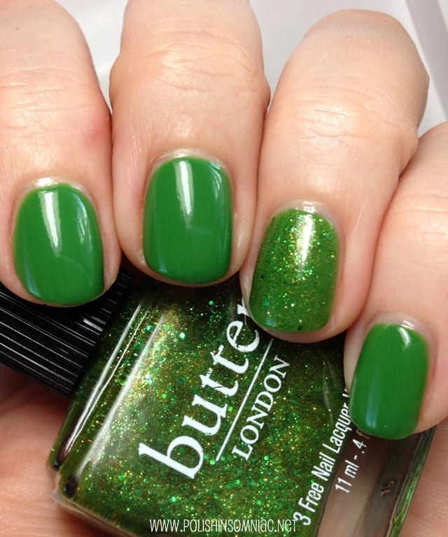 Sinful Exotic Green and butter LONDON Swinger