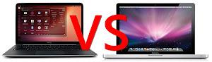 Ubuntu 13.04 Raring VS Mac OS X 10.8.3