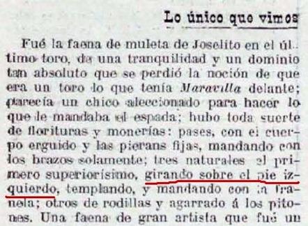 La lidia (1915-10-04) texto