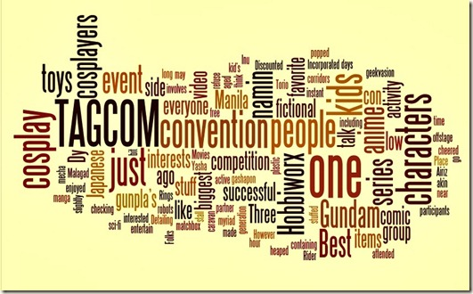 TAGCOM word cloud