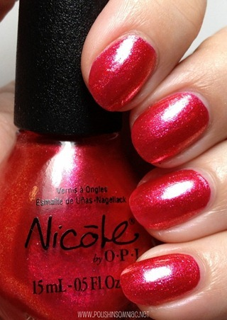 Nicole by OPI Scarlet