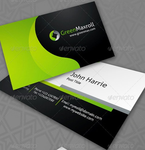 GreenMaxroll-Business-Cards