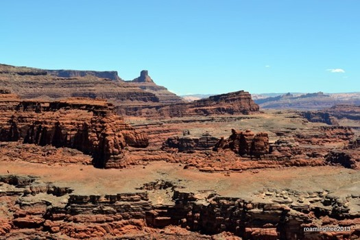 Incredible formations in the canyon