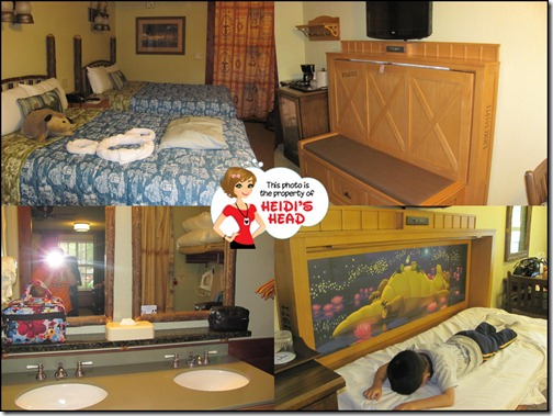 Clockwise From Top Left 2 Queen Beds The Murphy Bed By Day Sink Area With Double Sinks And Night