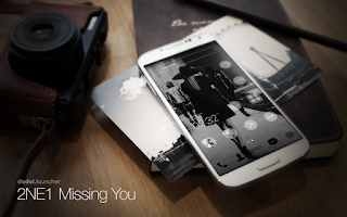 Screenshot of 2NE1 MISSING YOU dodol theme