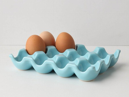blue egg crate