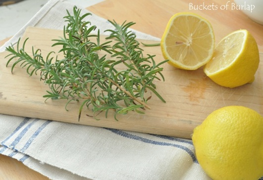 rosemary &amp; lemon