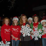 WBFJ - Lexington Christmas Parade - 12-5-11