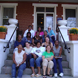 Chicago women's retreat in 2008 at Angela House