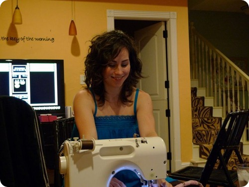 sewing while pregnant