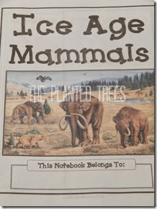 Ice Age Mammals Notebook