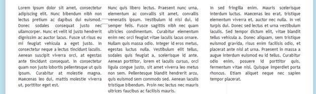 testo-suddiviso-tre-colonne