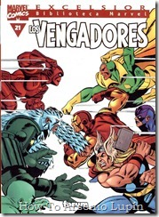 P00021 - Biblioteca Marvel - Avengers #21