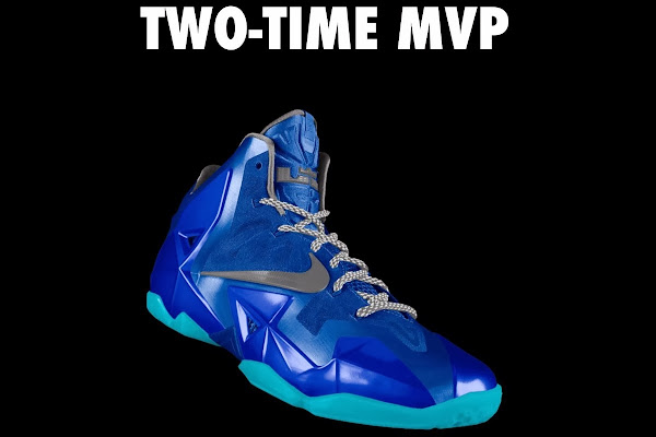A Decade of Moments  NIKEiD LeBron XI 8220TwoTime MVP8221