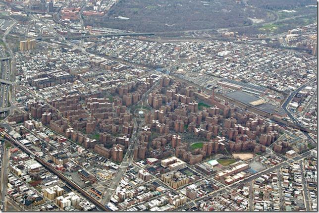 parkchester-aerial shot