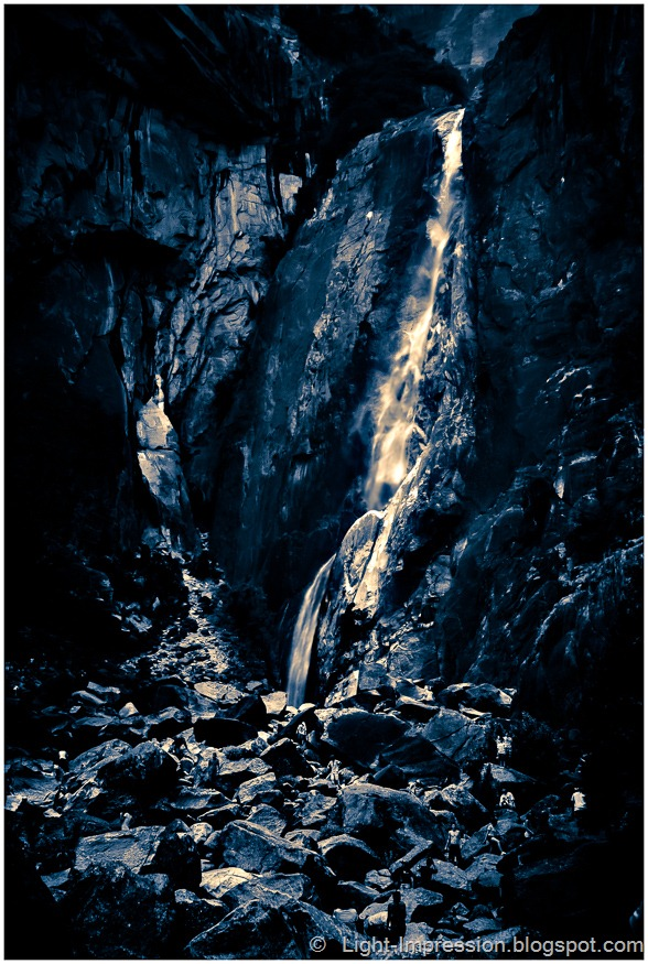 Light Impressions-Yosemite Falls -- Take 2