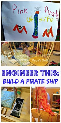 Child Led Project - Building a Life Size Pirate Ship