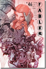 Fables no. 46 cover by James Jean