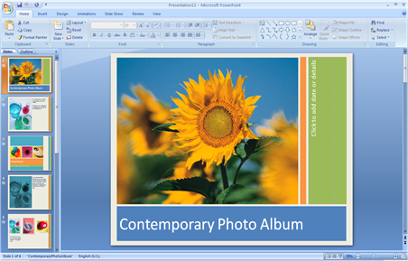 Contemporary Photo Album