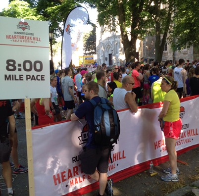 Start line tips and more race day etiquette