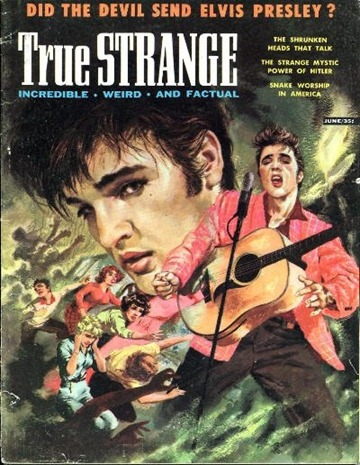 True Strange, June 1957. Cover art by Thomas Beecham-8x6