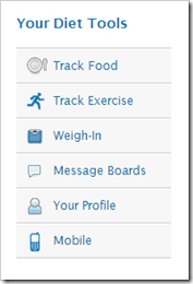 my fitness pal tools