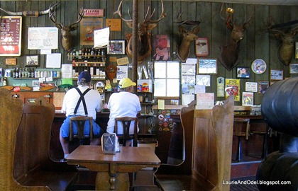 Inside Imnaha Tavern