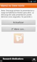 Screenshot of Presentaciones PPS