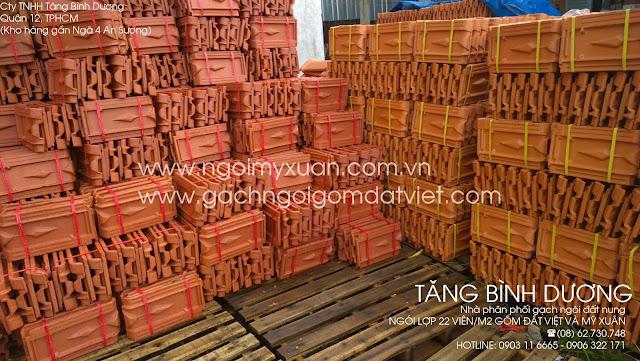 Ngói 22 Gốm Đất Việt và ngói 22 Mỹ Xuân