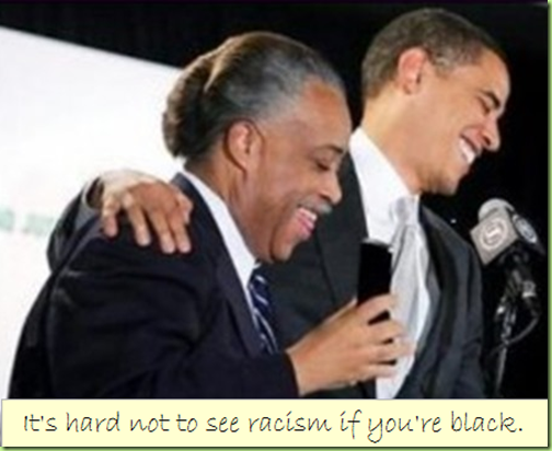 hard not to see racism