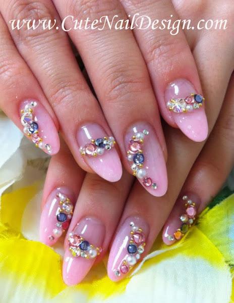 166779_226603097442564_11021601_n Cute Nail Designs With Rhinestones - Cute Nail Designs With Rhinestones Nail Designs, Hair Styles