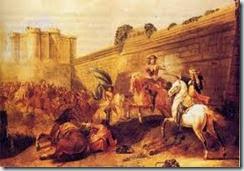 La Montpensier à la Bastille en 1652