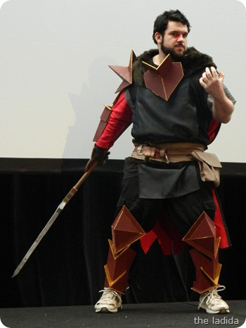 EB Expo Just 'Cos Cosplay Competition - Hawke from Dragon Age 2