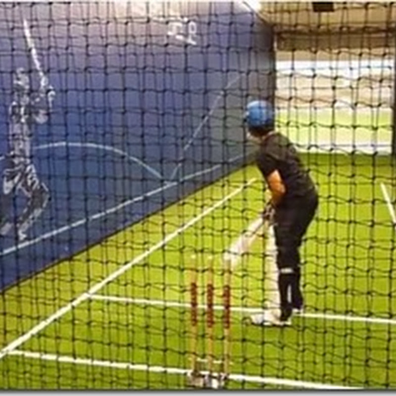 VIDEO : Sachin Tendulkar Trains his Son Arjun Tendulkar