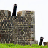 Cannons At Brimstone Hill Fortress - Basseterre, St. Kitts