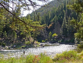 Salmon River Near Stanley
