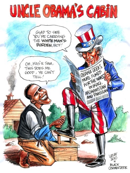 CC Photo Google Image Search Source is fc09 deviantart net  Subject is Uncle Obama s Cabin by Latuff2