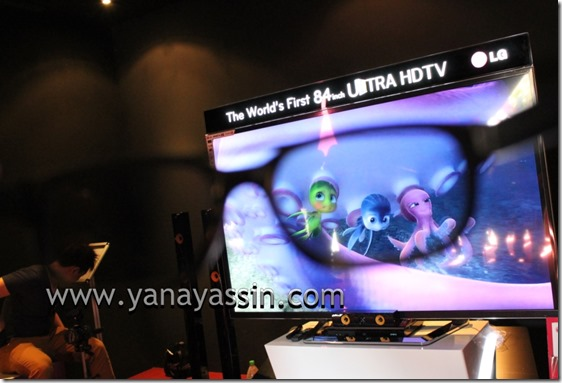 LG Fiesta TV84inch120