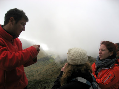 our guide and two girls I was hanging out with
