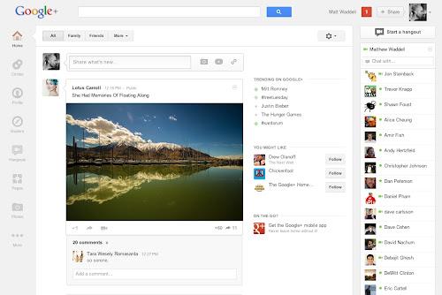 Il nuovo Google+