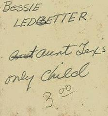 Bessie Ledbetter back CP